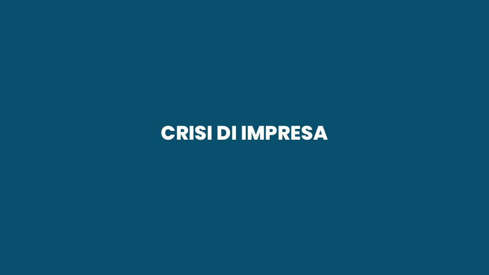 Crisi di Impresa