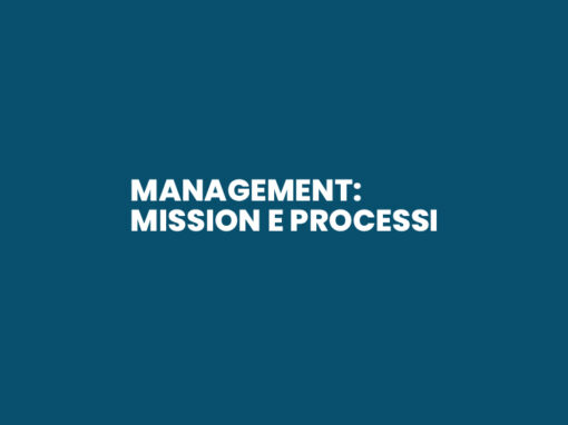 Management: Mission e Processi