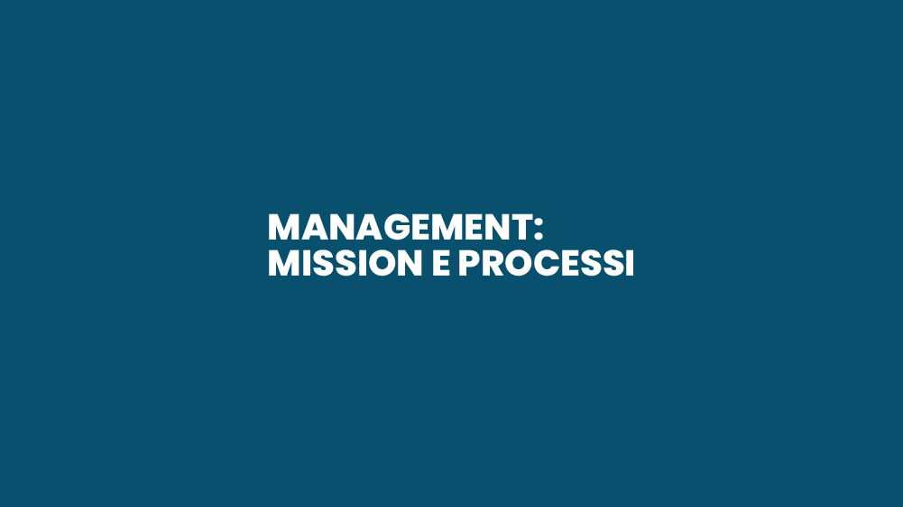 Management: Mission e Processi