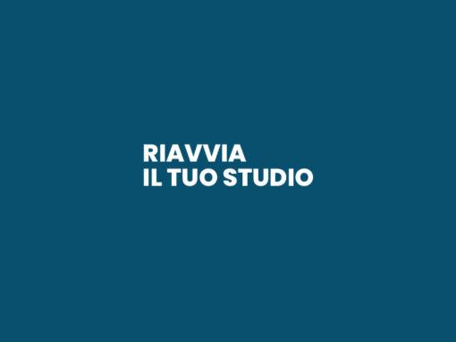 Riavvia il tuo Studio